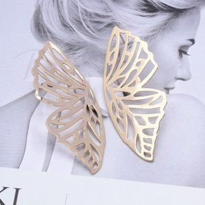 5 for $25 Metal Butterfly Statement Earrings